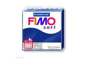 Fimo Soft Bleu foncé 35