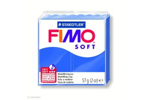 Fimo Soft Bleu brillant 33