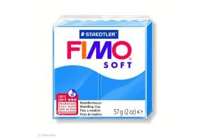 Fimo Soft Bleu pacifique 37