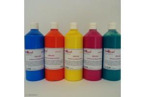 Peinture acrylique brillante OBYLAK 15 couleurs