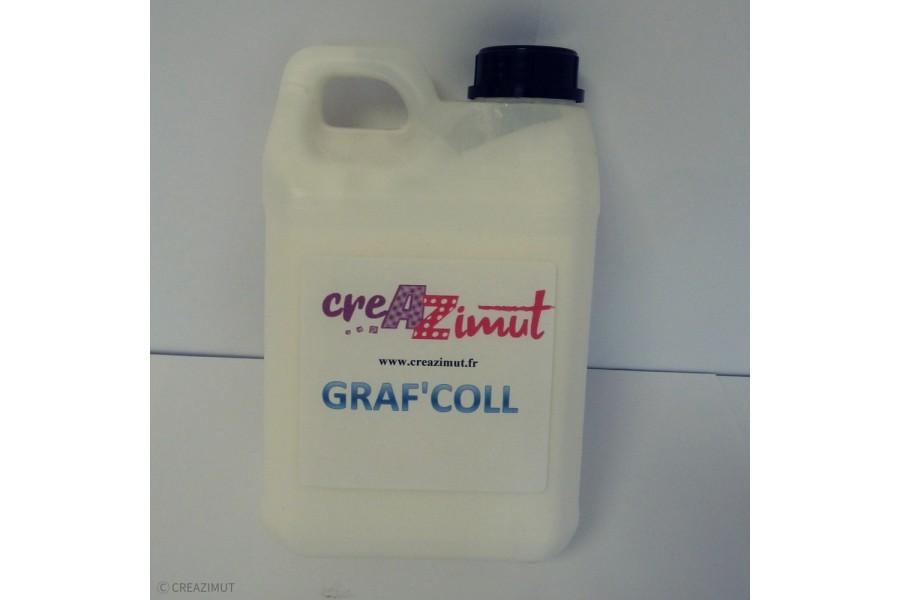 Graf'coll est un vernis colle pour les loisirs créatifs, carterie faire parts