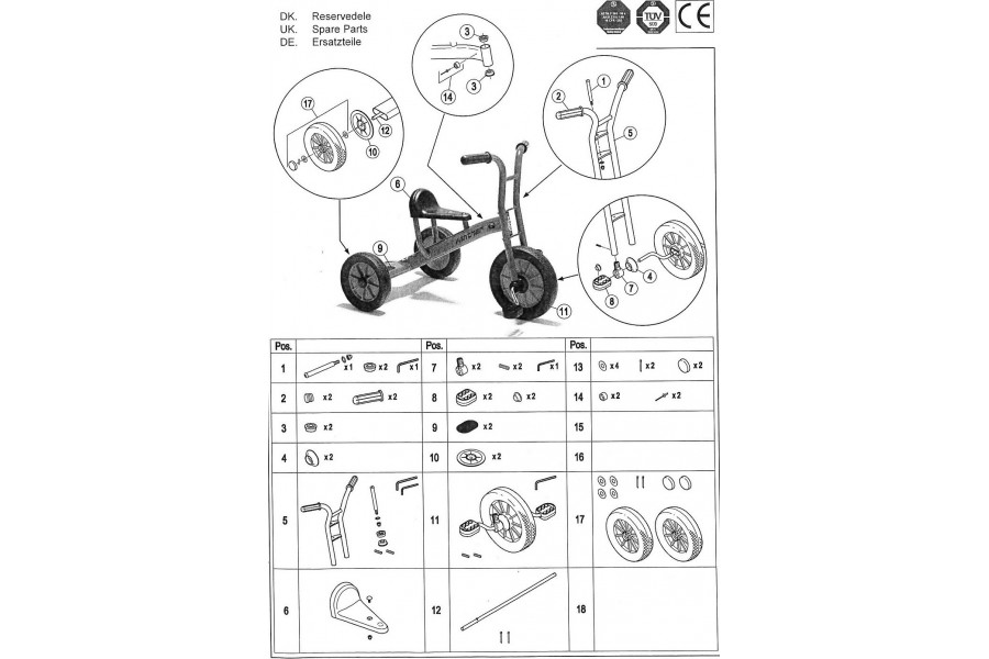 Tricycle moyen 451