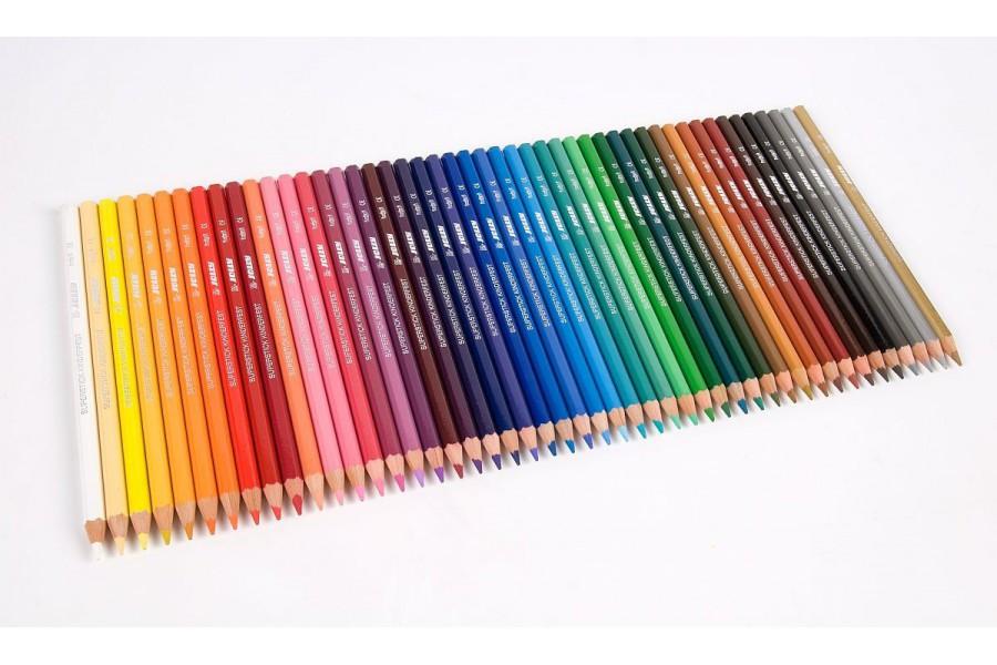 Crayons hexagonaux fins