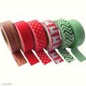 Lot de 6 rouleaux masking tape Hiver 470031 PWI
