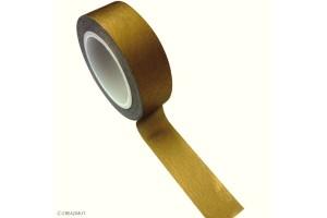 Rouleau adhésif masking tape Or