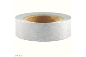 Rouleau adhésif masking tape Argent